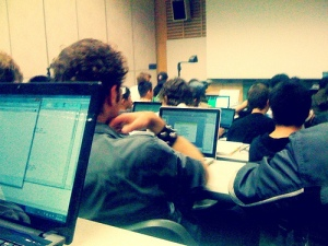 A Sea Laptops During a Lecture